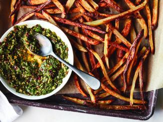 Cilantro Chimichurri Fries