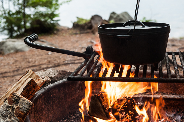 4 Surprising Healthy Meals You Can Make While Camping Food