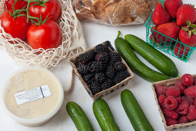 Light and Fresh Farmers Market Meals - Food & Nutrition Magazine - Stone Soup