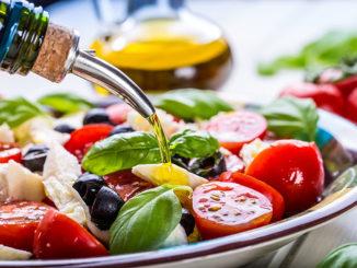 Mediterranean salad.