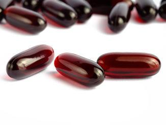 Krill oil omega 3 capsules
