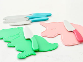 Fun and Novel Knife Set Gets Kids Eating More Veggies - Food & Nutrition Magazine - Stone Soup