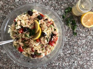 Greek Orzo Salad with Lemon Dijon Dressing | Food & Nutrition | Stone Soup