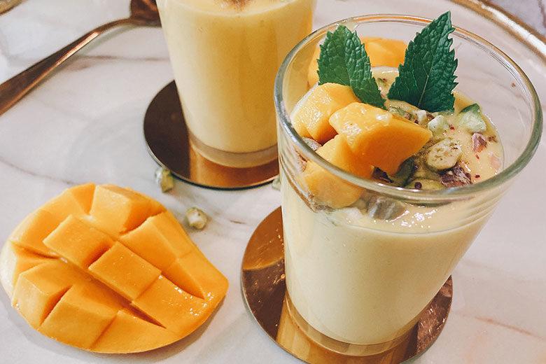 Refreshing Mango Lassi - Food & Nutrition Magazine - Stone Soup