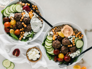 Mediterranean Meatball Bowls - Food & Nutrition Magazine - Stone Soup