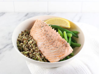 Multicooker Lemon Ginger Salmon - Food & Nutrition Magazine - Stone Soup