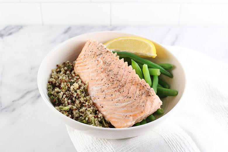 Multicooker Lemon Ginger Salmon - Food & Nutrition Magazine - Stone Soup