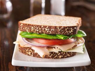 deli meat sandwich