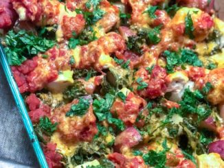 One Pan Potato Kale Salsa Chicken | Food & Nutrition | Stone Soup
