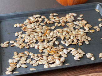 Salt and Pepper Pumpkin Seeds - Food & Nutrition Magazine - Stone Soup