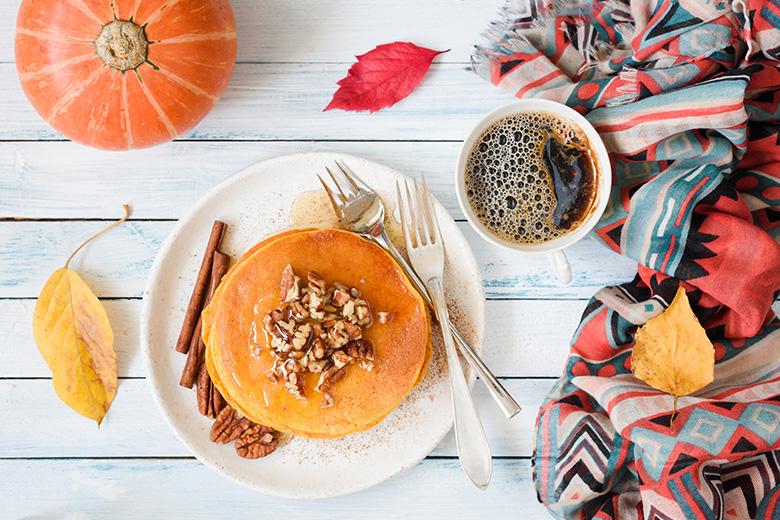 Pumpkin Teff Pancakes - Food & Nutrition Magazine - Stone Soup