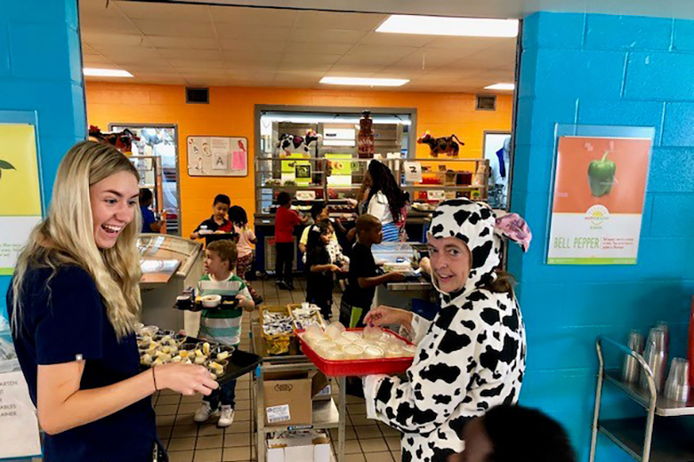 The Other Side of the School Cafeteria - Food & Nutrition Magazine - Stone Soup