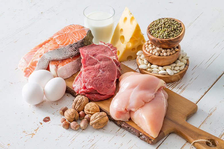 Selection of protein sources