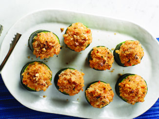 Rice and Ricotta Stuffed Summer Squash | Food & Nutrition Magazine | Volume 10, Issue 2
