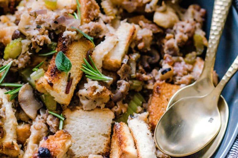 Mushroom Sausage Stuffing | Food & Nutrition | Stone Soup
