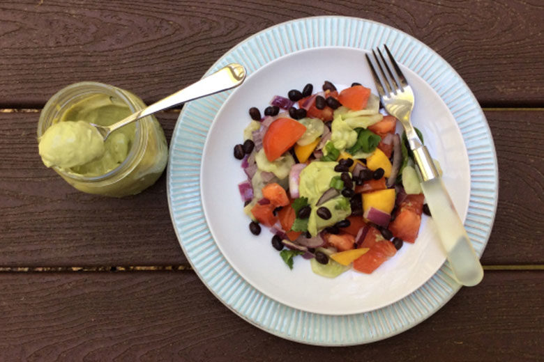 Summer Salad with Avocado Dressing | Food & Nutrition | Stone Soup
