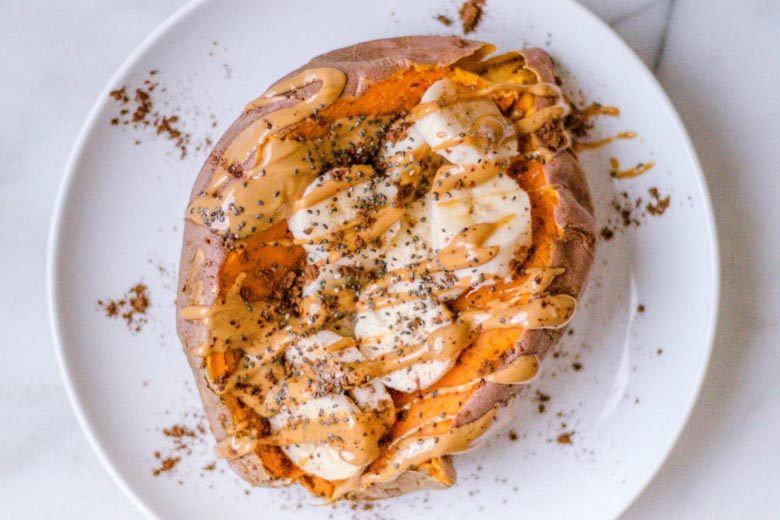 How to Make a Breakfast Sweet Potato | Food & Nutrition | Stone Soup