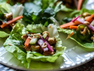Tofu Banh Mi Lettuce Wraps | Food & Nutrition | Stone Soup