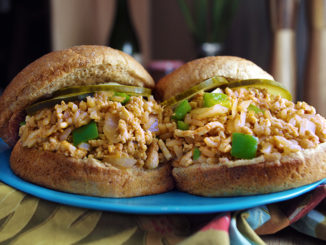 Chicken and Brown Rice Sloppy Joes