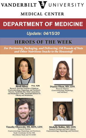 Vanderbilt University Medical Center - Heroes of the Week