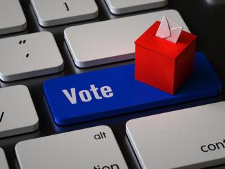 vote key on the keyboard