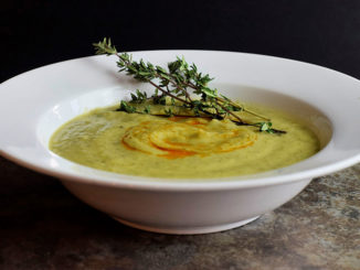 Creamy Zucchini Soup - Food & Nutrition Magazine - Stone Soup